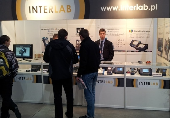 INTERLAB tradeshow booth